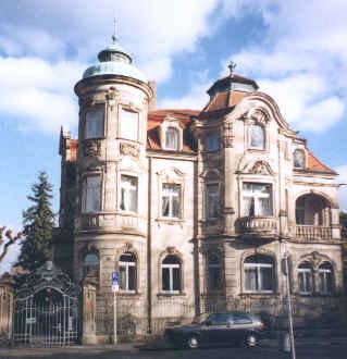 Hopfenhändlervilla im Bamberger Hain